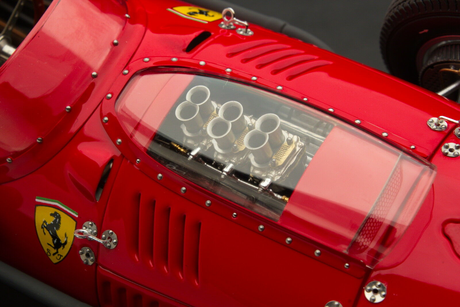 Exoto XS 1958 Ferrari Dino 246 F1 / Phil Hill / GP of Italy / 1:18 / #GPC97218B