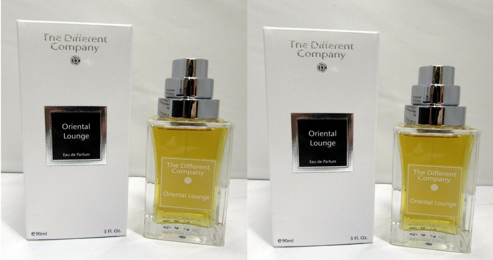The Different Company Oriental Lounge Unisex EDP Spray 90 ml 3 oz New x 2 PCS