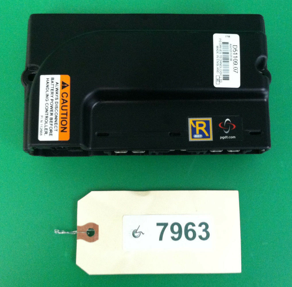 P and G R Net control module D51109.07 for Quickie Pulse 6 Wheelchair #7963