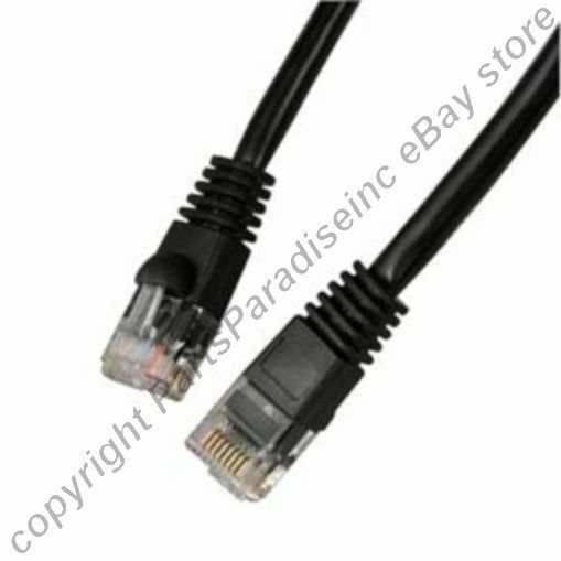 Lot1000 1ft RJ45 Cat5e Ethernet Cable/Cord/Wire{BLACK{F