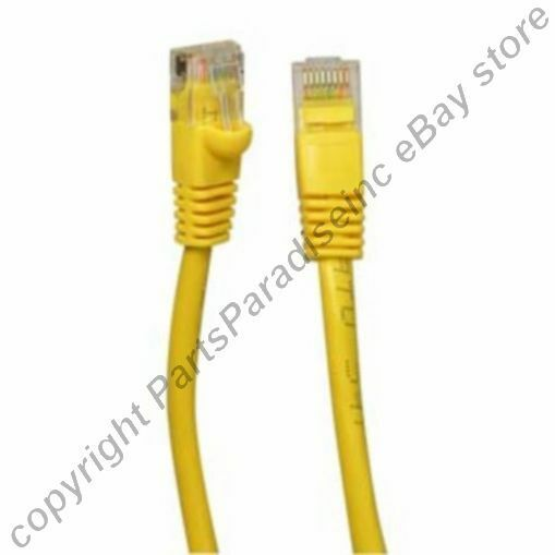 Lot1300 1ft RJ45 Cat5e Ethernet Cable/Cord/Wire{YELLOW{F