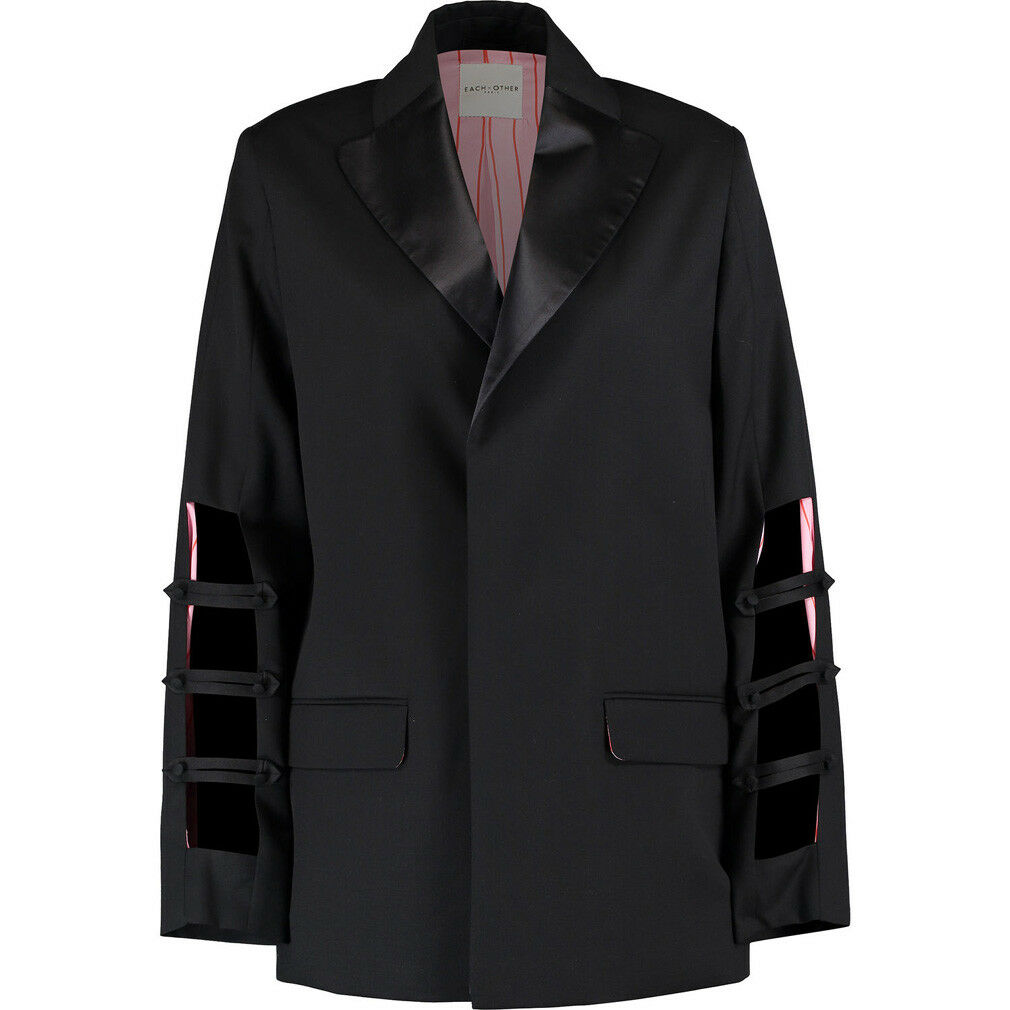 EACH X OTHER Black Wool Blazer