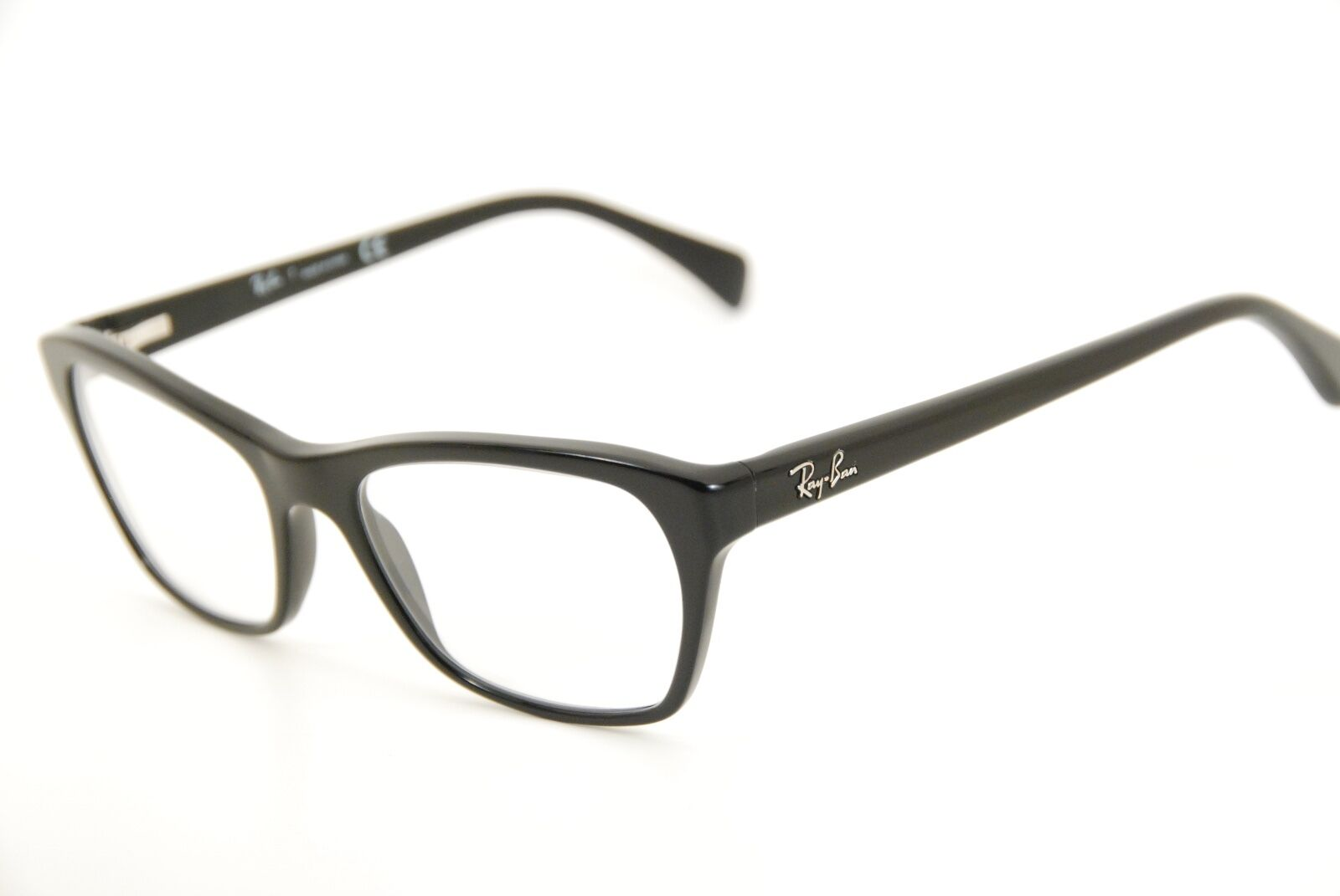 New Authentic Ray Ban RB 5298 2000 Black/Silver 53mm Frames Eyeglasses RX