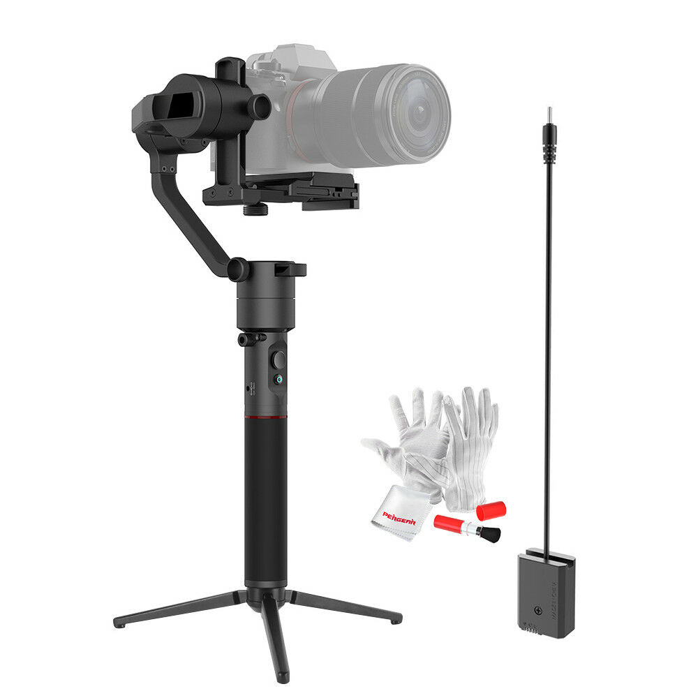 New MOZA AirCross 3 Axis Handheld Camera Gimbal+ Power Connection for Panasonic