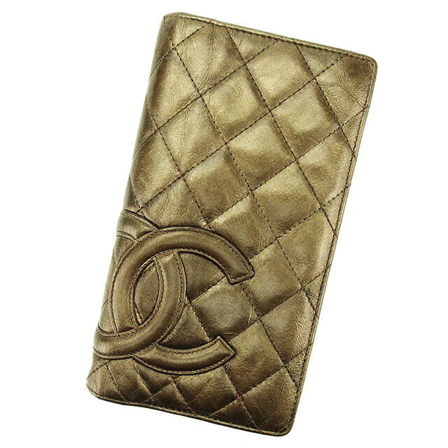 Auth CHANEL purse Kambonline Ladies used T2957