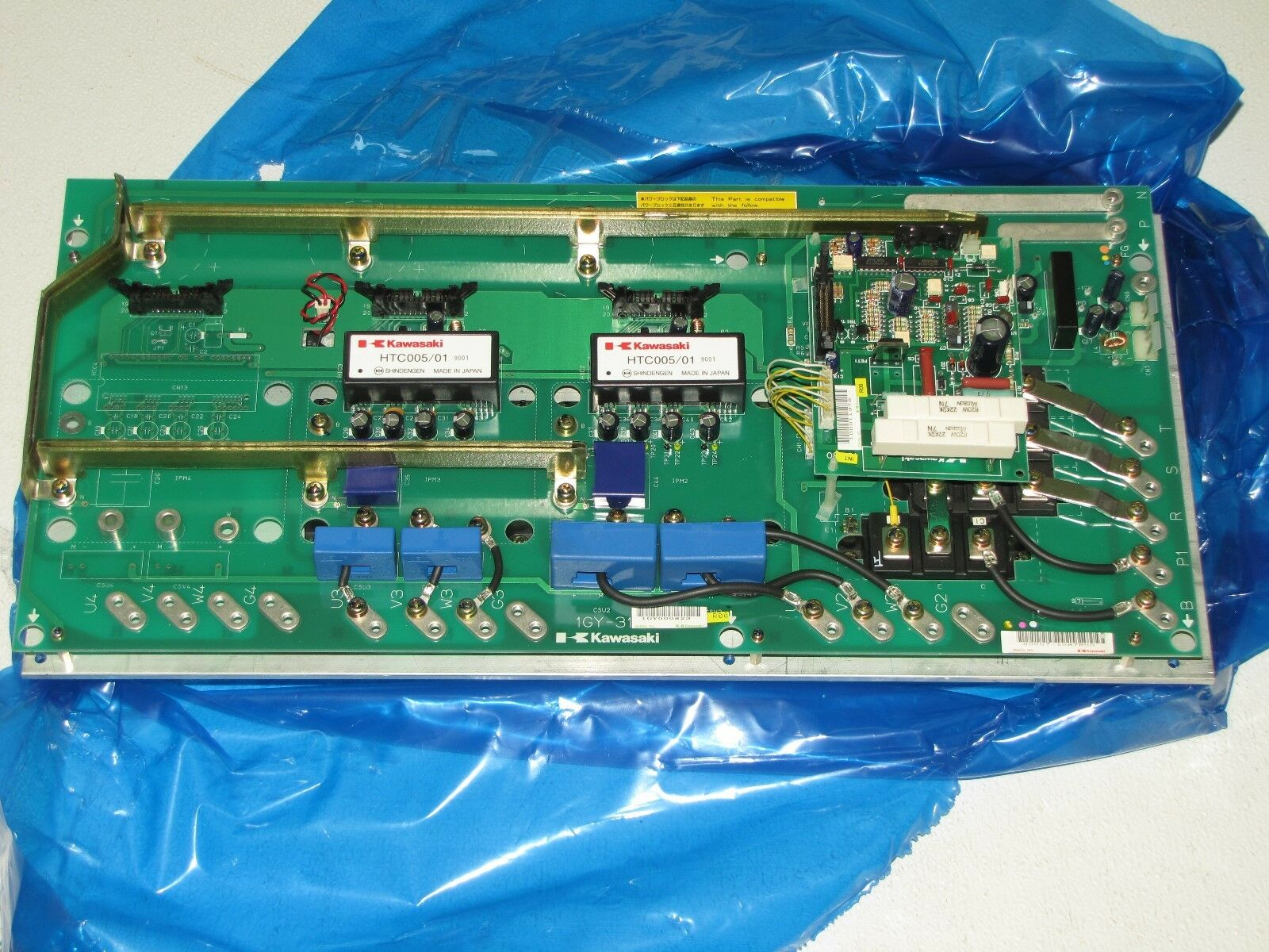 KAWASAKI 50607-1087R00 ROBOTIC SERVO AMPLIFIER  -NEW-