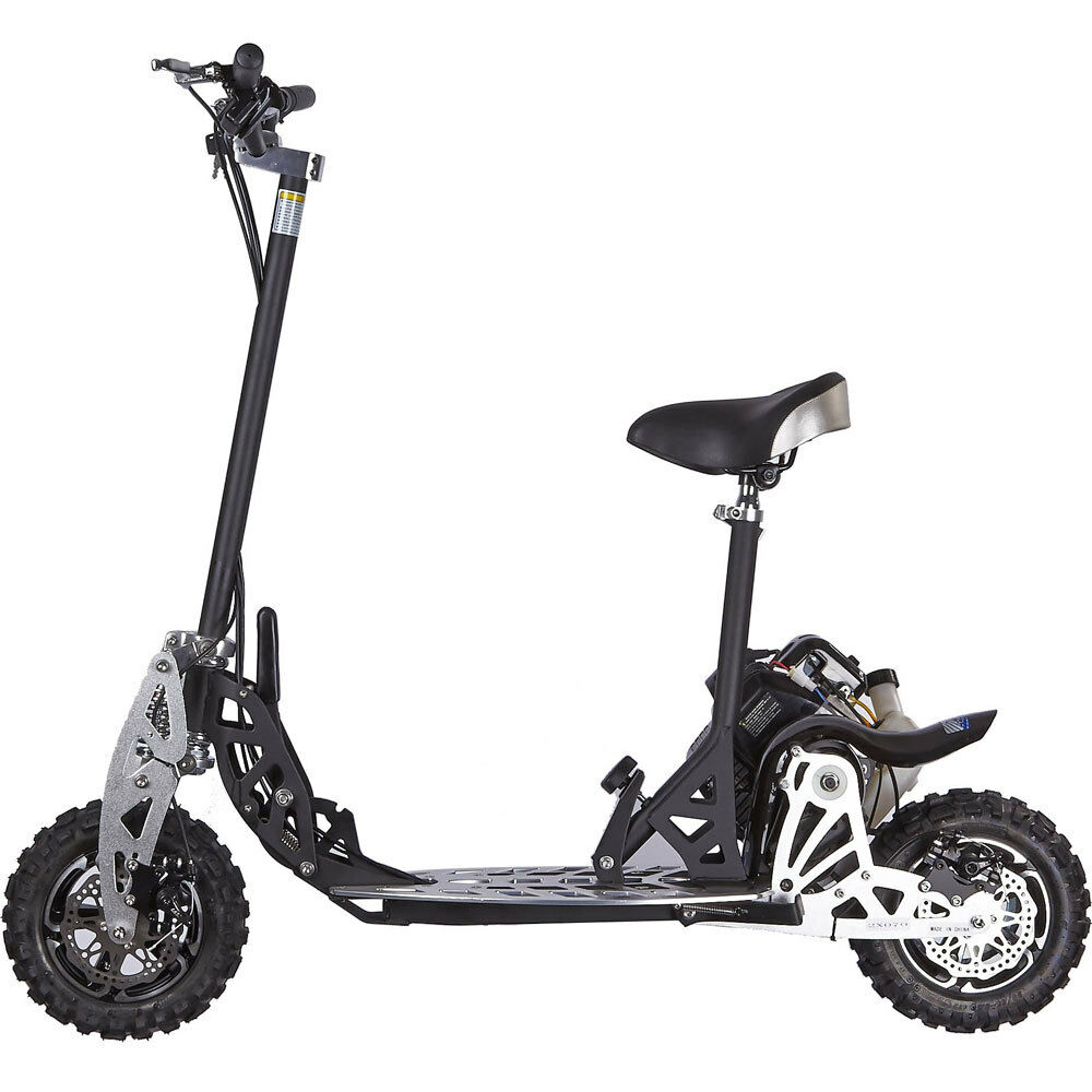 UberScoot 2x 50cc Scooter by Evo Powerboards,  Gas Scooter EVO 2X Speed Warranty