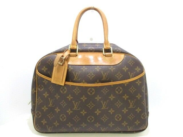 Auth LOUIS VUITTON Deauville M47270 Monogram Canvas VI1000 Handbag