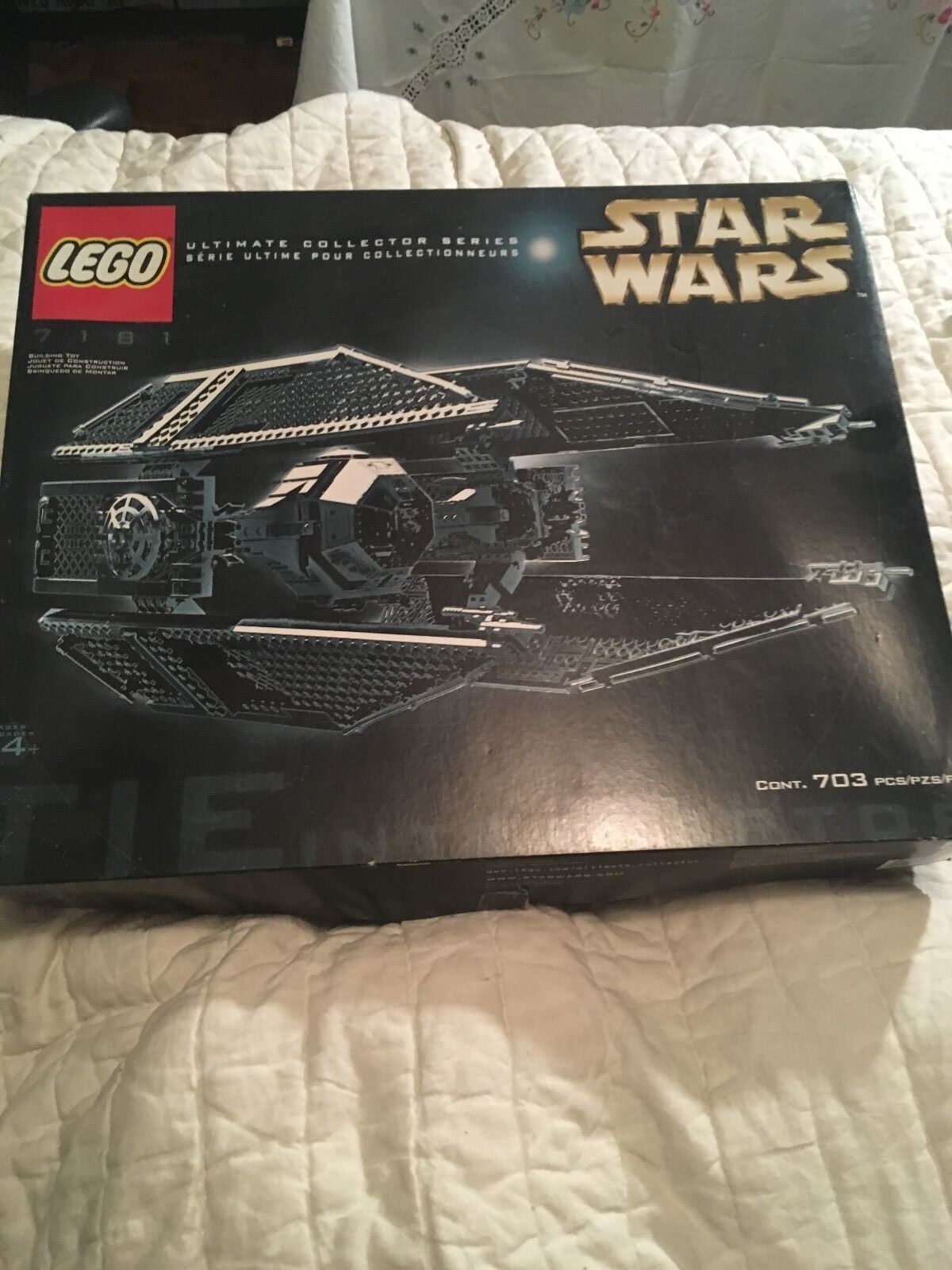LEGO  7181 TIE INTERCEPTOR VERY RARE MINT CONDITION!!!!!!!!