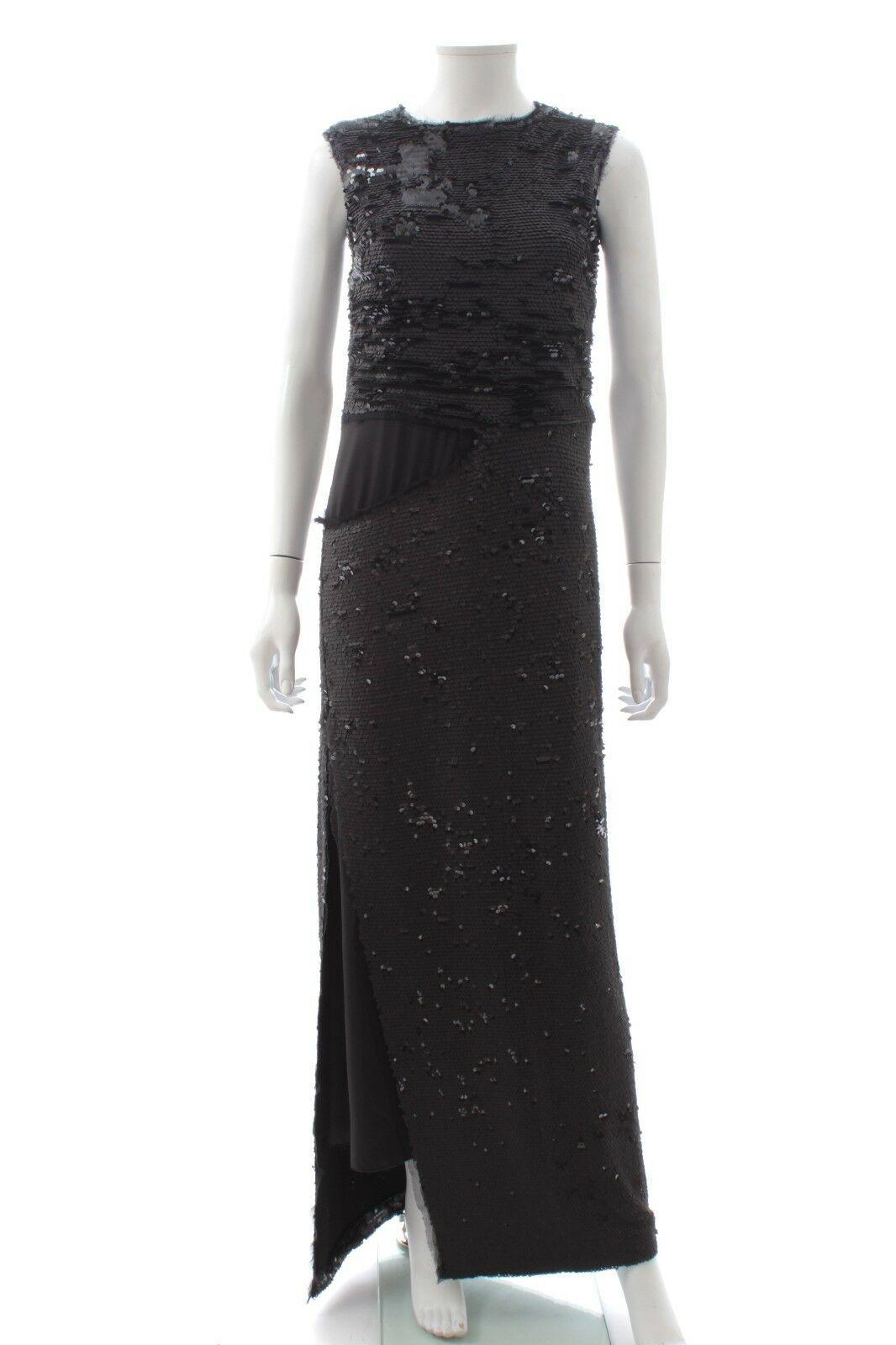 Maison Margiela Sequin Embellished Gown / Black Metallic / RRP: £3,295.00