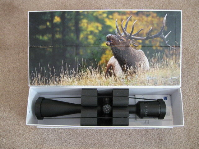 ZEISS CONQUEST HD5 SCOPE 5-25x50mm MATTE #82 RZ-800 RETICLE HUNTING TURRETS NEW