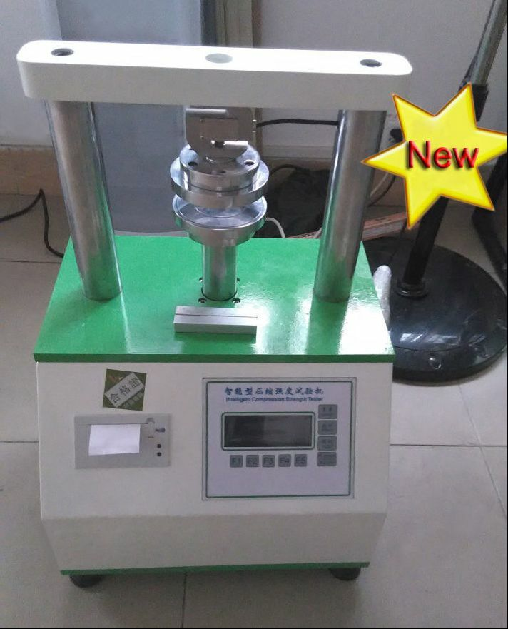 Intelligent Cardboard Compression Strength Tester With Printing Function 110V B