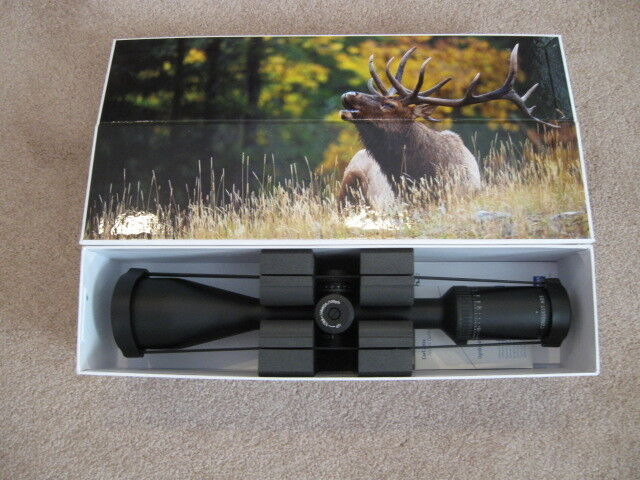 ZEISS CONQUEST HD5 SCOPE 5-25x50mm MATTE #83 RZ-1000 RETICLE LOCKING TURRETS NEW