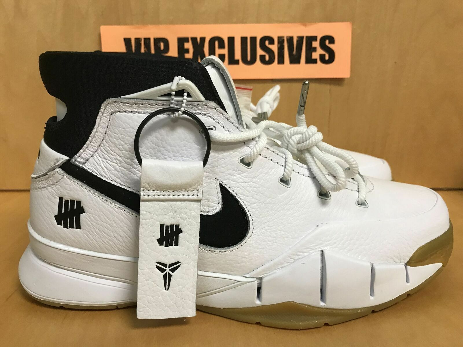 KOBE 1 PROTRO UNDEFEATED WHITE AQ3635-100 LOS ANGELES NBA ALL-STAR EXCLUSIVE