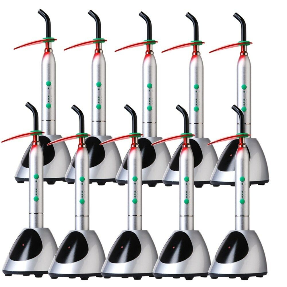 10x New Dental LED Light Curing Unit Cordless Lamp 2000mw/MC (D8) DK1R