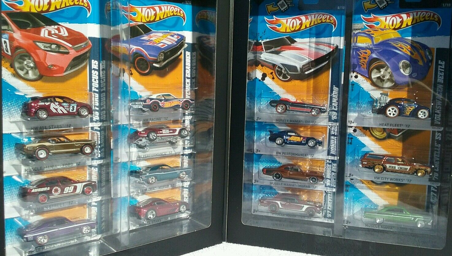 2012 Mattel Hot Wheels RLC Super Treasure Hunt Set Of 15 cars. SpectraðŸ