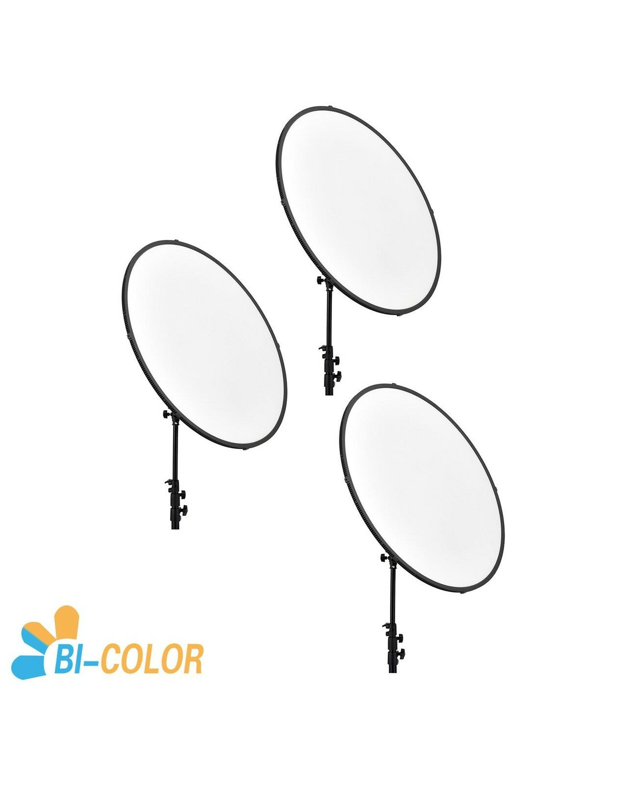 CAME-TV C1500S Bi-Color LED Edge Light (3 Pieces Set) Led Video Lighting