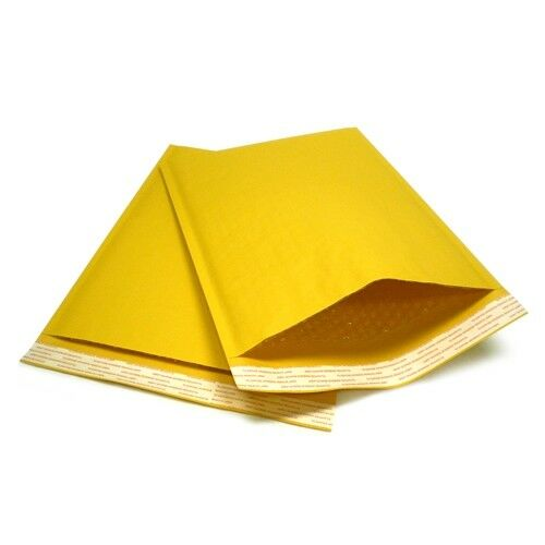 Kraft Bubble Mailers Padded Envelopes Protective Packaging Bubble Pak Brand