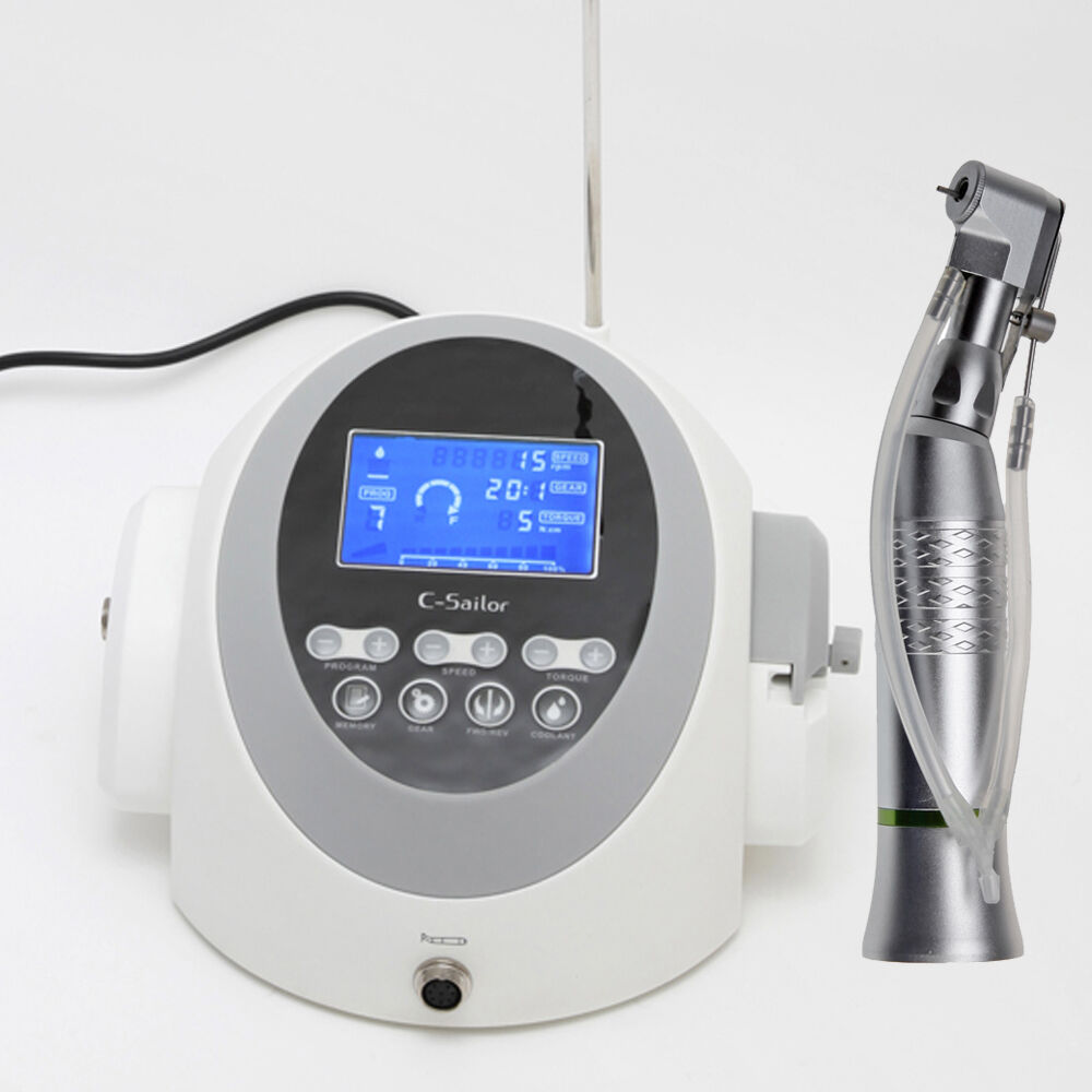 Dental Implant Brushless Motor 20:1 Reduction Handpiece Surgical Implante ZV6Q