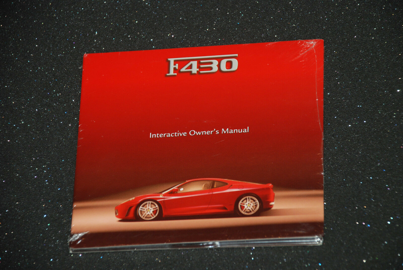 Ferrari Factory F430 Interactive Owner's Manual CD-Rom  2407/06 - March 2008