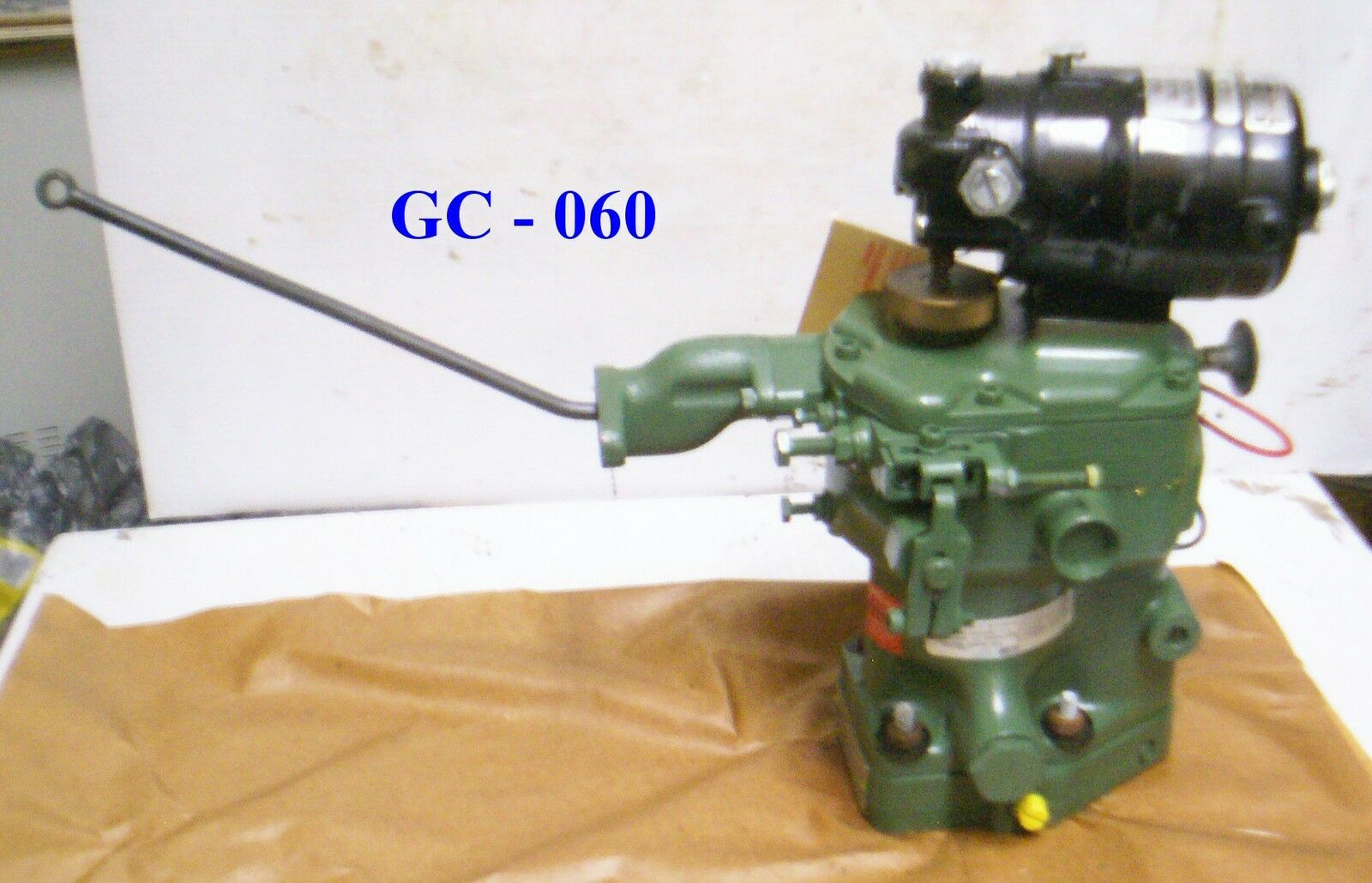 Woodward Governor w/ Bodine Electric Co Motor for Detroit Diesel - P/N: 8561-537