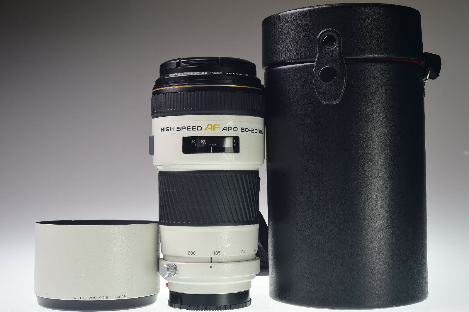 MINOLTA HIGH SPEED AF APO TELE 80-200mm f/2.8G for Sony Alpha Excellent