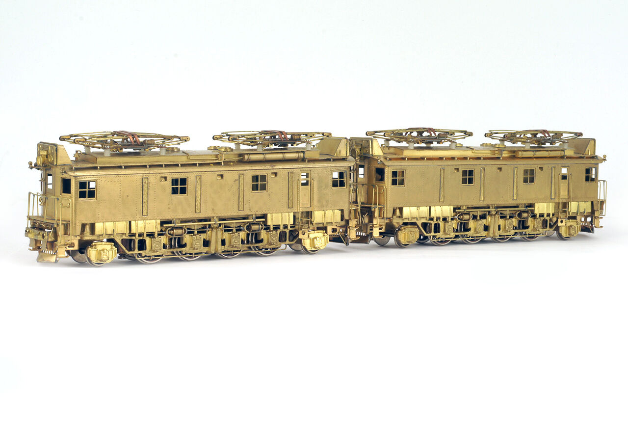 Vintage NIKEL PLATE PRODUCTS HO H0 Brass GREAT NORTHERN Z-1 Electric Locomotive