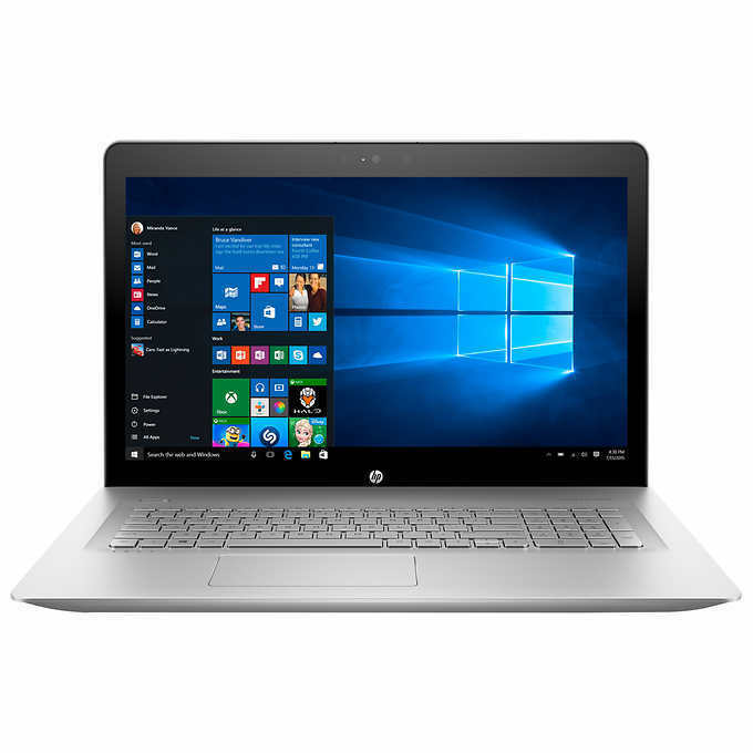 HP ENVY 17t 8th GEN i7-8550U 1TB HD 8GB RAM NVIDIA MX150 17.3