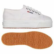 SUPERGA 2790 ZEPPA scarpe DONNA 4cm acotw UP AND DOWN BIANCO PRV/EST Moda 901ntq