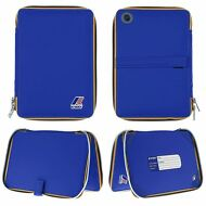 K-WAY Porta ipad IMPERMEABILE THEO TABLET MINI UOMO RINFORZATO Blu KWAY 618afmac