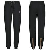 K-WAY ROSE FRENCH TERRY PANTALONI DONNA Sportivi nero PRV/EST KWAY New Moda K02n