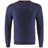 ROBE DI KAPPA PERRYD Pullover UOMO AUT/INV Freeze BLUE navy New 469srkmscm