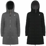 K-WAY giubbotto Imbottito cappotto DONNA SOPHIE THERMO STRETCH DOUBLE KWAY 910yw