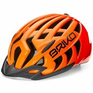 BRIKO Casco ciclismo Byker bici MOULD HELMET UNISEX ARIES-S LINE MTB Caschi A02n