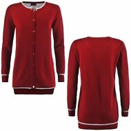 ROBE DI KAPPA ISABEAU CARDIGAN maglie DONNA Aut/inv cloudy ROSSO pepper 901pvwcc