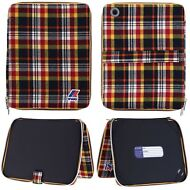 K-WAY JACQUES IPAD TARTAN Porta Rinforzato DEVICE Covers UOMO aut/inv KWAY 901id