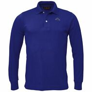 ROBE DI KAPPA AARBERG Polo UOMO Maglia MC.LUNGA BLUE royal CLASSIC new H39orhplv