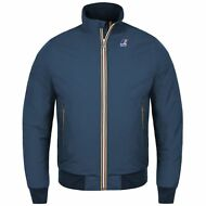 K-WAY JOHNNY GIUBBOTTO UOMO Bomber Corto Aut/inv Fod.pile News KWAY 904is