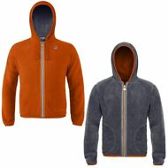 K-WAY Felpe UOMO GIACCA aut/inv reverse pile JACQUES POLAR New KWAY Nuovo 910wvn