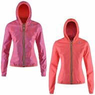 K-WAY LILY PLUS DOUBLE GRAPHIC GIACCA DONNA cappuccio PRV/EST new KWAY 902oapvry