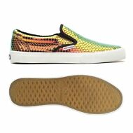 SUPERGA slip on DONNA 2311 EXAGONMETLEAW PELLE IRRIDESCENTE chic prv/est 908nayb