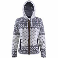 K-WAY giacca LILY WOOL ICELAND GIUBBOTTO DONNA TERMICO Zip New KWAY Nuovo 907ssg