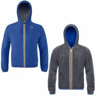 K-WAY Felpe UOMO Giacca Aut/inv REVERSE PILE JACQUES POLAR New KWAY Nuovo 905ukd
