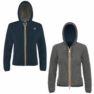 K-WAY FELPE RAGAZZA GIACCA aut/inv REVERSE pile LILY POLAR New KWAY Nuovo 907hfc