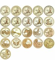 DOLLAR PRESIDENTIAL DOLLARS 2007   2011 ALL SET  EACH PRESIDENT  20 COINS D OR P