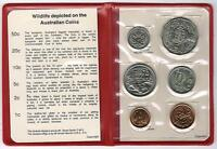 1983 RAM UNCIRCULATED  UNC  6 COIN MINT SET 20 CENT COIN