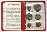 1981 RAM UNCIRCULATED  UNC  6 COIN MINT SET