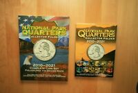 2010   2017 110 QUARTER NATIONAL PARK PDS UNCIRCULATED SET W/WHITMAN FOLDER