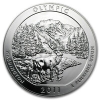 2011 5 OZ SILVER ATB OLYMPIC NATIONAL PARK WA   SKU 62425
