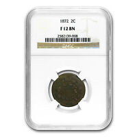 1872 TWO CENT PIECE FINE-12 NGC - SKU88731